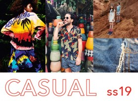 ss19 Casual Colour + Trend